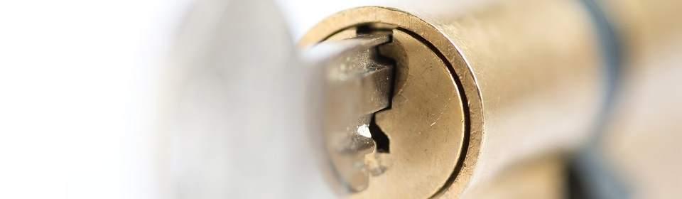 Cilinderslot zonder kerntrekbeveiliging